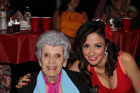 Delia Farizath and the Legendary Carmen Zapata