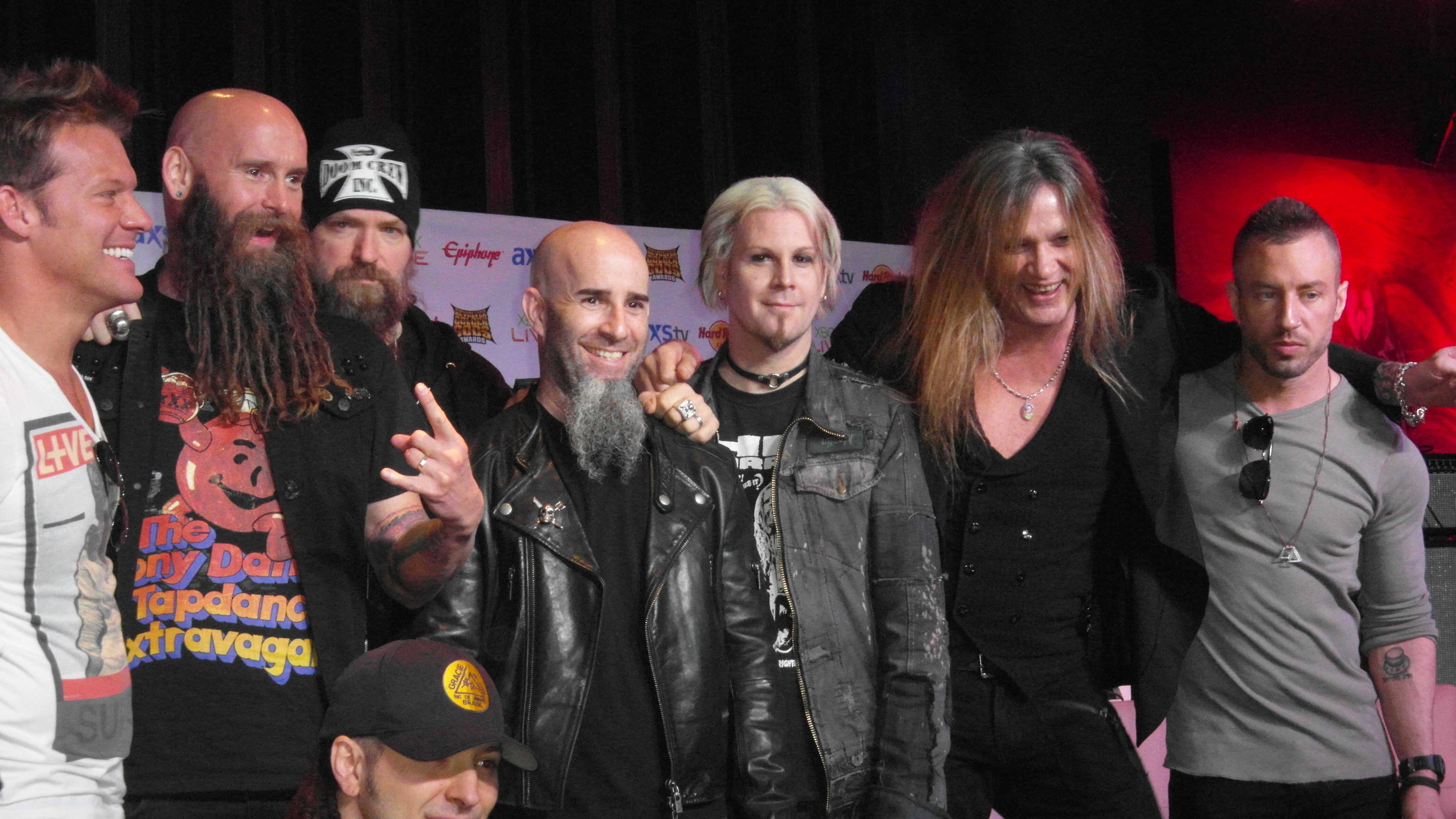 The Golden Gods Awards Nominations took place at the Hard Rock Cafe in Hollywood