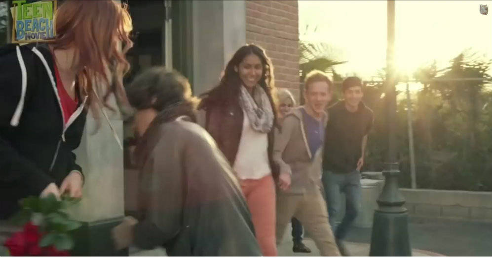 "Mariana Flores featured here in the music video ""Meant to be"" by Sam Tsui"