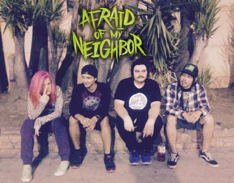 Violetta Gaetani and her band Afraid of my neighbor