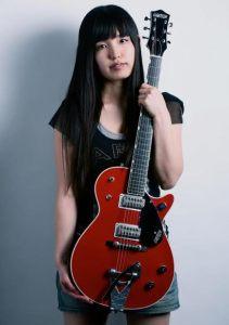 Guitarist Hisako Ozawa